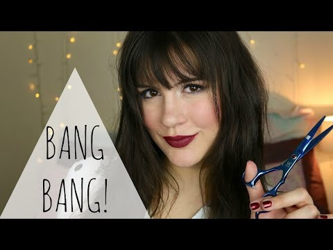 How to Cut Your Own Fringe Bangs Like a PRO! | Hairstyle Tutorial