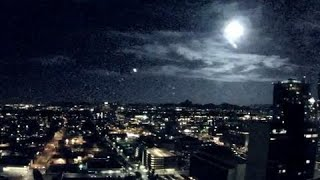WOW: Meteor streak caught on cam across Phoenix sky