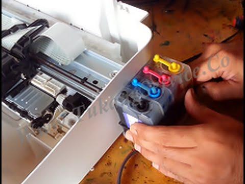 How To Modify Printer Ink Canon MG2470 or MG2570 / MG2570s