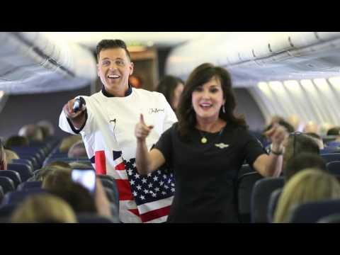 Flying Equals Fun - Serving Tax Day Treats on Southwest Airlines