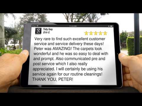 Tidy Guy Carpet Cleaning Charlottesville VA 5 Star Review