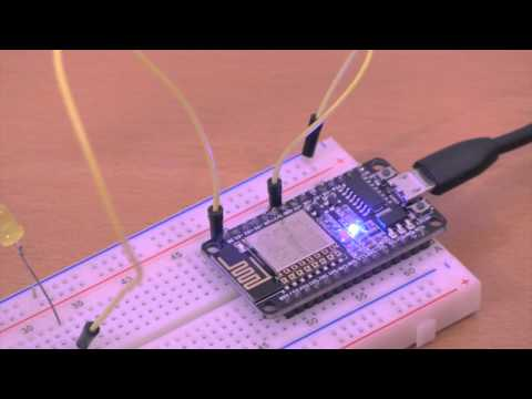 IoT ESP8266 12e Tutorial: Controlling LED Over Web with iOS Swift App