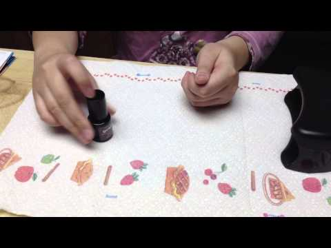 How to apply nail polish perfectly / Painting nails perfectly