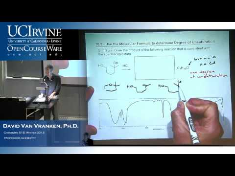 Organic Chemistry 51B. Lecture 16. Infrared Spectroscopy + Ch. 14.