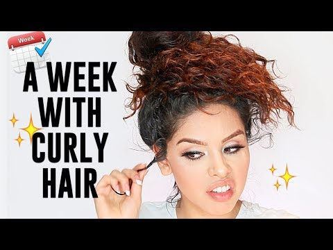 A WEEK WITH CURLY HAIR