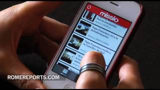 The new 'Missio' app: Missionary news directly on your cell phone