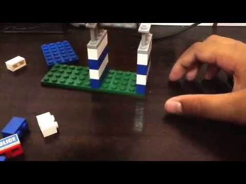How to make a mini Lego police station