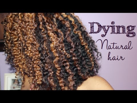Dying Natural Hair Tutorial + My Results :)