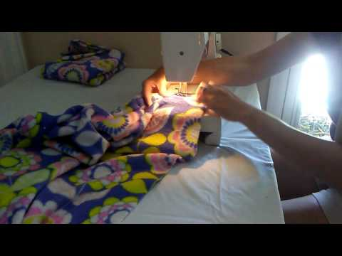 How To Make A DIY Sleeping Bag For Your Doll