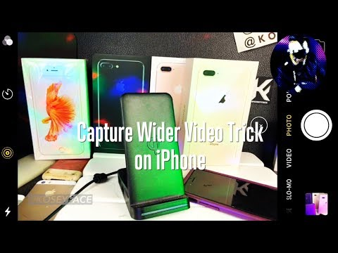 Full Frame Video Capture iPhone 8 X Video Trick