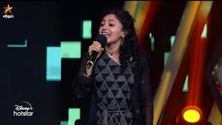 Super Singer Malavika and Santhosh Performance -- Super Singer Champion of Champions
