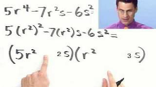 Factoring Trinomials Completely Part 2 Of 2 From Thinkwell College Al