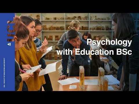 Psychology with Education BA BSc | UCL Institute of Education