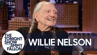 """Willie Nelson Is """"Chief Tester"""" at His Weed Company"""