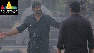 Mirchi Movie Prabhas Super Action Scene in Rain   Prabhas, Anushka, Richa   Sri Balaji Video