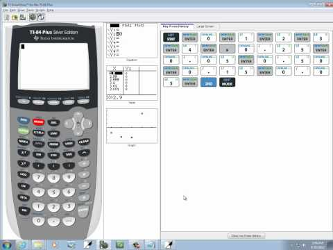 Elementary Statistics: Finding Std. Dev. and Variance of a Discrete Random Variable on TI-83-84