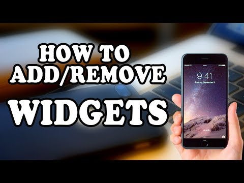 How to Add Widgets How to Remove/Delete Widgets on iphone 7 plus | 99Tubes