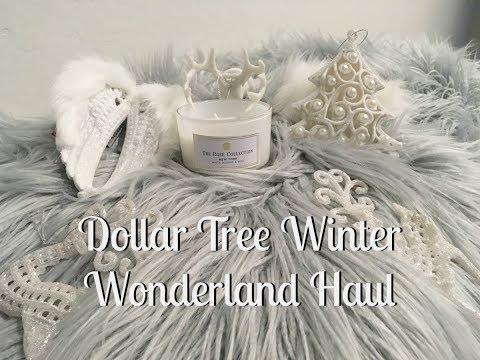 Dollar Tree Winter Wonderland White Christmas Holiday Haul