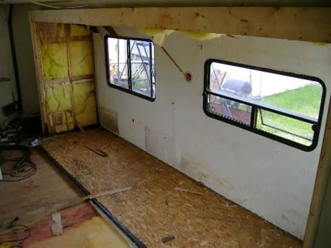 92 Terry Resort 5th Wheel Camper Build Part 1