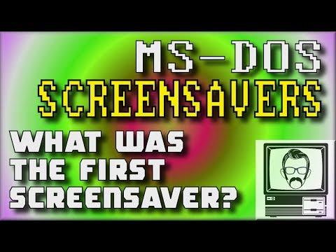 Screensavers Before Windows | Nostalgia Nerd