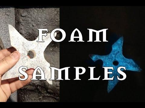 Custom Foam for Larp