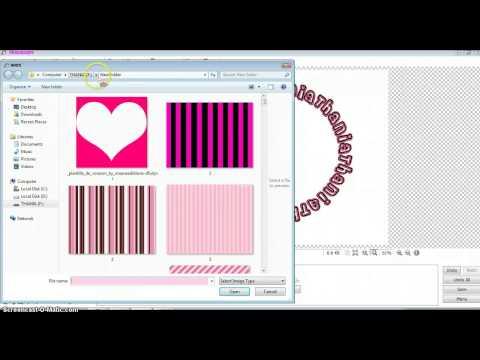 How to make circular logo in Photoscape