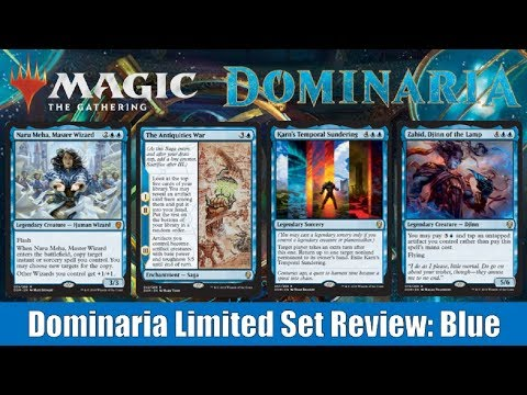MTG Dominaria Limited Set Review: Blue