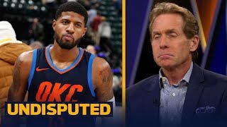 Skip Bayless felt sorry for Paul George during OKC