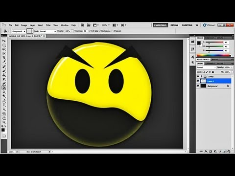 How to Make a Smiley from Scratch in Photoshop
