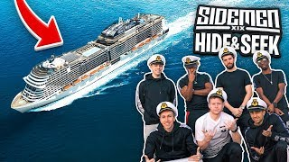 SIDEMEN $900 MILLION CRUISE SHIP HIDE & SEEK!
