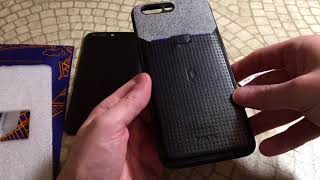 Poetic Nubuck Credit Card Case For OnePlus 5 BiG Unboxing and Review