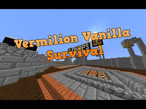 MINECRAFT SERVER NEED STAFF QUICKLY AND BAD [Vermilion Vanilla Survival][1.12]