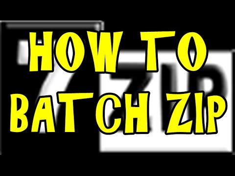 How To - Ep #9  - Compress Multiple Folders Into Multiple Zip Files Automatically Using 7ZIP