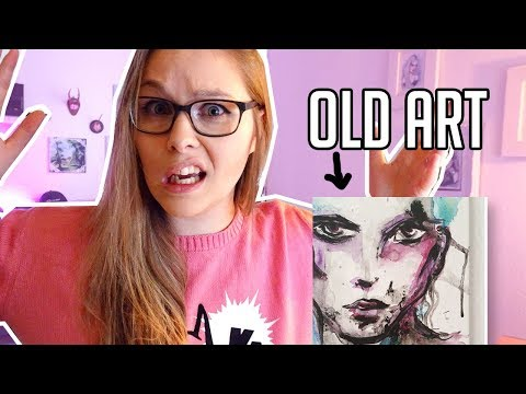 Reacting to my OLD (and Bad) Art