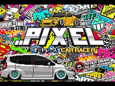 Pixel Car Racer  - Honda Fit Build + Tune [6 second 1/4 mile!] PCR Race Session!