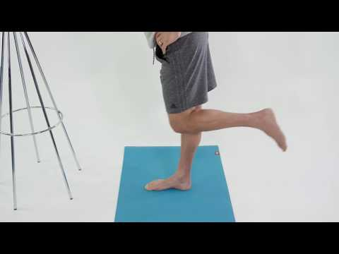 Standing Leg Workout for Strong Knees - Knee Stabilization