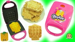 Does It Work ? - Shopkins Waffle Sue Maker Iron Making Breakfast For American Girl Doll