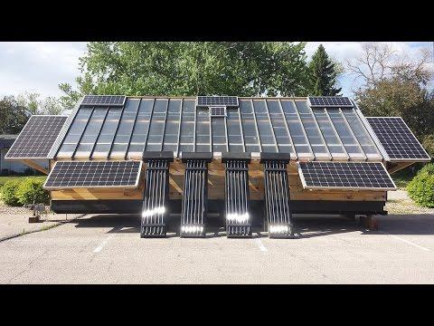 4k HD: The world's most advanced mobile solar wood kiln.