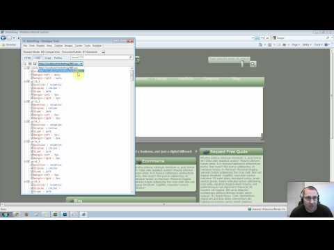 CSS Debugging for Internet Explorer
