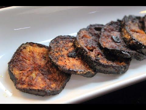 Brinjal Roast / Aubergine Fry