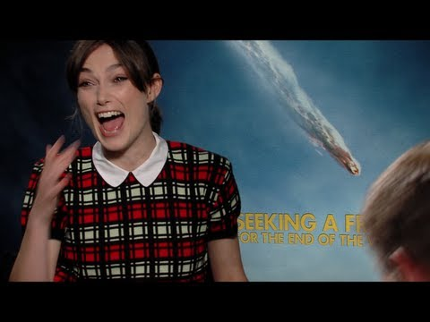 Steve Carell and Keira Knightley Interview for SEEKING A FRIEND FOR THE END OF THE WORLD