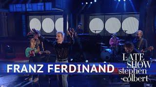 Franz Ferdinand Performs