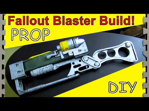 How to Make a Laser Rifle From Fallout! (DIY)
