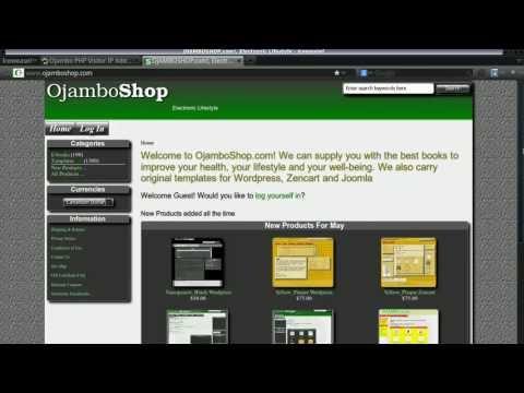 Ojambo - PHP Visitor IP Address Video (vs 0055)