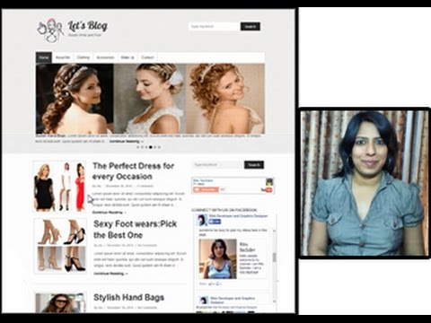WordPress: Creating A Professional Blog!! So Easy using Theme Simple Catch