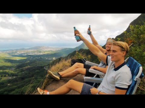 IF YOU FALL YOU DIE! DRINKING BEER!? | VLOG 21