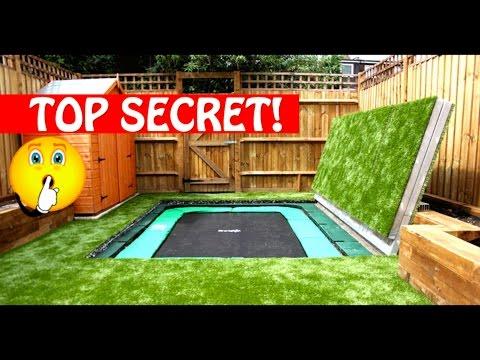 Most Amazing Trampolines Ever!! Secret Trampoline?! Part 1