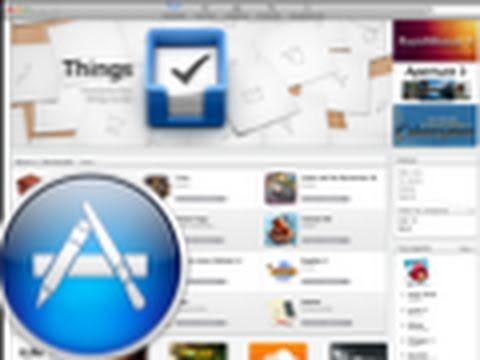 Conoce la Mac App Store