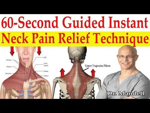 60-Second Instant Stiff Neck & Neck Pain Relief Technique  - Dr Alan Mandell, DC