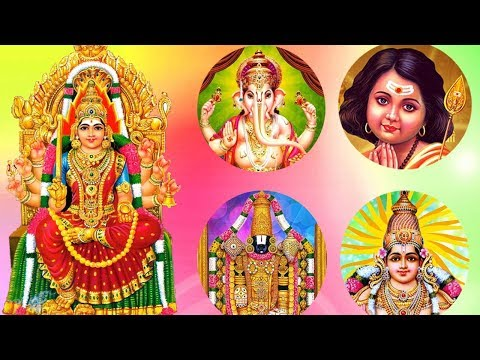 Best Tamil Devotional Songs of All Time (All Gods) –Tamil Bhakti Padalgal – (Ganesha,Murugan,Amman)